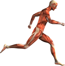 image: running figure